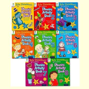 Oxford Reading Tree Songbirds Phonics Activity Book Julia Donaldson 8 Books Set เซตแบบฝึกหัด 8 เล่ม
