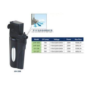 ปั้มน้ำพร้อมหลอด UV Kenis UV-338