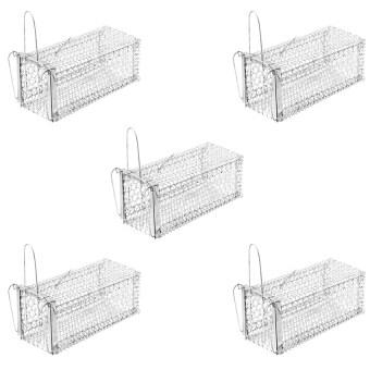 papamami Cage Rat Trap กรงดักหนูเล็ก ขนาด 5 นิ้วx11นิ้วx5นิ้ว (5กรง)