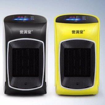 พัดลม ความร้อน ขนาด 1200 วัตต์ หน้าจอระบบสัมผัส พร้อมรีโมทคอนโทรล (สีดำ)