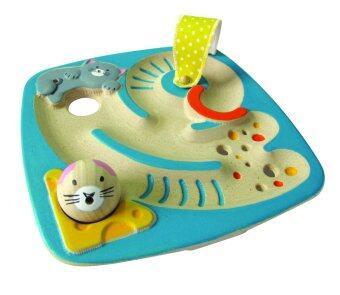 PlanToys แมวฝึกสมดุลย์ ของเล่นไม้