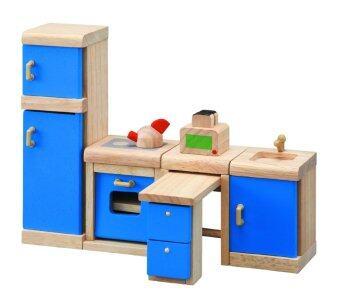PlanToysKITCHEN - NEOชุดห้องครัว เฟอร์นิเจอร์บ้านตุ๊กตา แปลนทอยส์ ของเล่นไม้ เสริมสร้างจินตนาการ