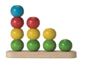 PlanToys แท่งไม้เสริมทักษะ ของเล่นไม้ เสริมสร้างการเรียนรู้