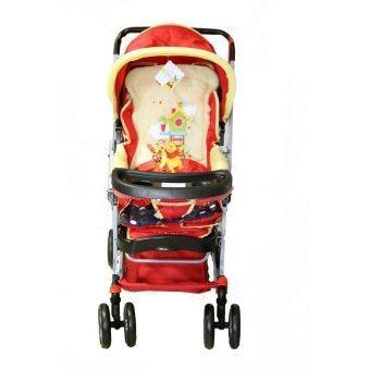 Pooh รถเข็นเด็กหมีพูห์ (สีแดง)