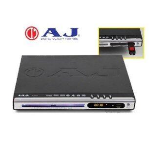 PP AJ เครื่องเล่น DVD รุ่น D-181E สีดำ