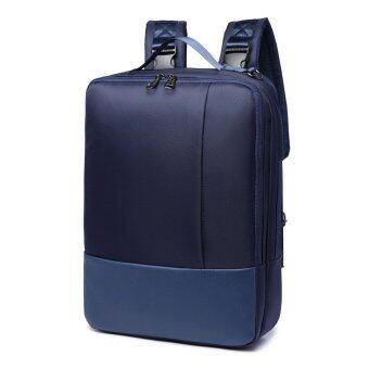 BESTHS กระเป๋าเป้ เป้สะพายหลัง คอมพิวเตอร์/โน๊ตบุ๊ค กระเป๋าสะพายข้าง สำหรับ การเดินทาง ทำงาน สามารถใส่ มือถือ แท็บเล็ต คอมพิวเตอร์ -Blue