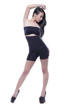 Qorsetกางเกงยกเชฟ(สีดำ)