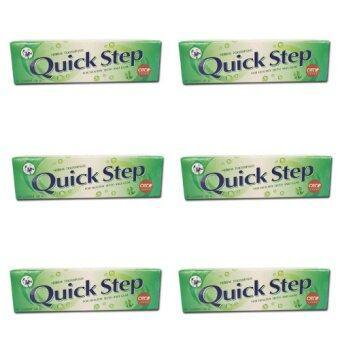 Quick Step ควิก สเต็ป ยาสีฟันสมุนไพรแท้ 100 กรัม x 6