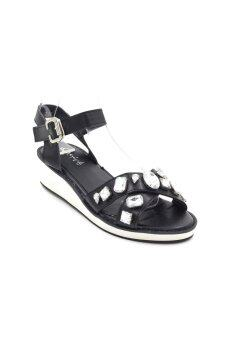 Quick Stepรองเท้าแฟชั่นAD12 (Black)