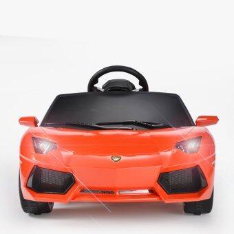 Rastar รถแบตซุปเปอร์คาร์สำหรับเด็ก Lamborghini Aventador - Orange