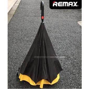 REMAX RT-U1 Windproof Sun Rain Umbrella Double Layer Auto-Open (yellow)
