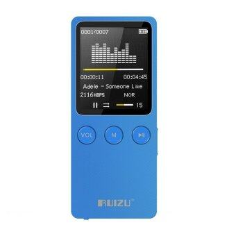 RUIZU X08 8GB Speaker MP3 Music Player With 1.8 Inch Screen Can Play 120 hours(Blue)