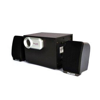 SAAG ลำโพง สเตอริโอ Micro 2.1 800W (สีดำ)