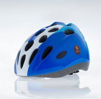 Saker หมวกกันน็อคเด็ก ทรง Extreme สีฟ้า-ขาว