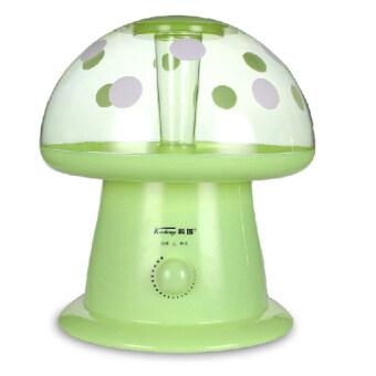 Humidifier เครื่องพ่นควันเพื่มความชื้นในอากาศ รุ่นเห็ด - สีเขียว