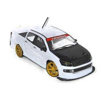SL018 Drift รถบังคับดริฟ 4WD สเกล 1:10 ดริฟได้ (สีขาว/ดำ)