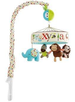 smartbabyandkid โมบายตุ๊กตาผ้าติดเตียง SKK รุ่น Alphabet Zoo Musical Mobile