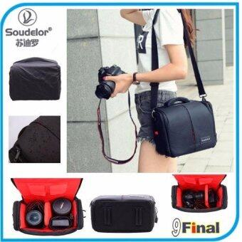 Soudelor Camera Bag กระเป๋ากล้อง DSLR รุ่น EOS Special Edition สำหรับ กล้อง CanonNikon DSLR