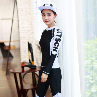 South Korea fashion sports diving suit jellyfish one-piece professional clothing