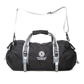 Sport Bag ประเป๋ากีฬา PENTAGRAM กระเป๋าออกกำลังกาย กระเป๋าใส่อุปกรณ์ออกกำลังกาย กันน้ำ 40Lรุ่น Z302 (สีดำ)