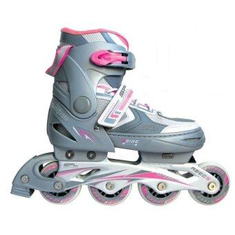 SPORTLAND อินไลน์ สเก็ต In-line Skate รุ่น SL-151K PK (Gray/Pink)