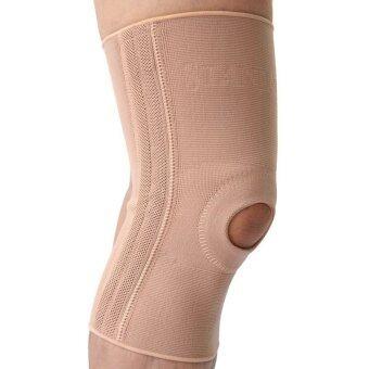 INTER Knee Support With Spiral (Open) Patella อุปกรณ์พยุงข้อเข่า แบบมีแกน (เปิด)ลูกสะบ้า SDK021