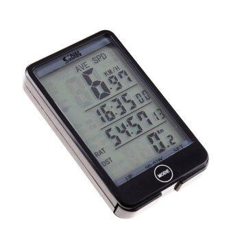 Sunding เครื่องวัดความเร็ว ไมล์ไร้สาย สำหรับจักรยาน รุ่น SD-576C (สีดำ)