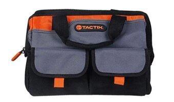 EShoppingTHTactix กระเป๋าเครื่องมือช่าง 12'' รุ่น 323145(สีดำ/สีส้ม)