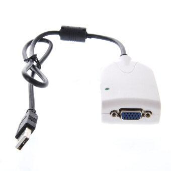 ตัวแปลงสาย USB เป็น VGA - Converter USB TO VGA