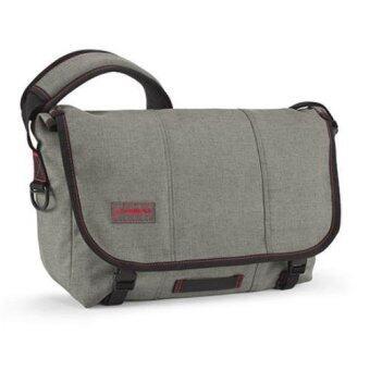 Timbuk2 กระเป๋าเป้สะพายข้าง รุ่น Classic Messenger Size M - Carbon Full-Cycle Twillฟรี Hidden BFD - Green มูลค่า 2250 บาท(Grey)