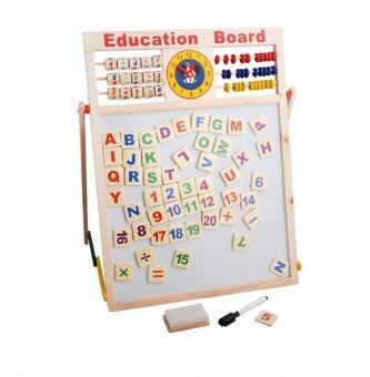 TM Toys กระดานแม่เหล็ก 2 in 1 (Education Board)