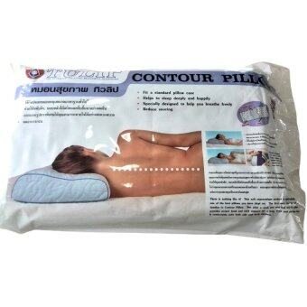 Tulip หมอนสุขภาพ ลดอาการกรน ลดอาการปวดคอ Contur Pillow