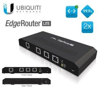 Ubiquiti EdgeMax EdgeRouter Lite ERLite-3 512MB Memory 3 Ethernet Ports Router
