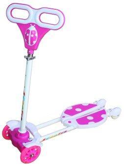 Uni Toys สกู๊ตเตอร์เตะกบ Kick Frog Scooter - สีชมพู