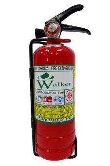 Walker ถังดับเพลิง เคมีแห้ง ขนาด 2 ปอนด์ (ถังสีแดง)