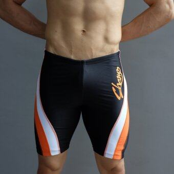 WANAKA กางเกงว่ายน้ำCHM452 (Black/Orange)