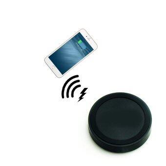 Wireless Charger ที่ชาร์จไร้สายสำหรับ iPhone55s66Plus - Black