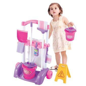 Worktoys ชุดทำความสะอาด สำหรับเด็ก Little Helper พร้อมอุปกรณ์