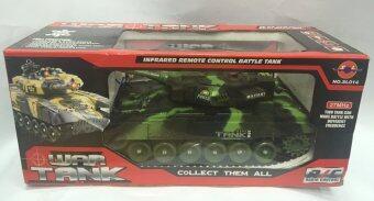 Worktoys รถถัง บังคับวิทยุ Infrared remote control battle tank No. SL014