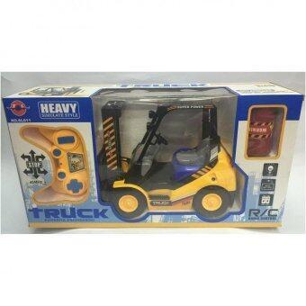 Worktoys รถยก โฟล์คลิฟท์ Forklift บังคับวิทยุไร้สาย ฟังก์ชั่นสมจริง No. SL011 สัดส่วน Scale1:10