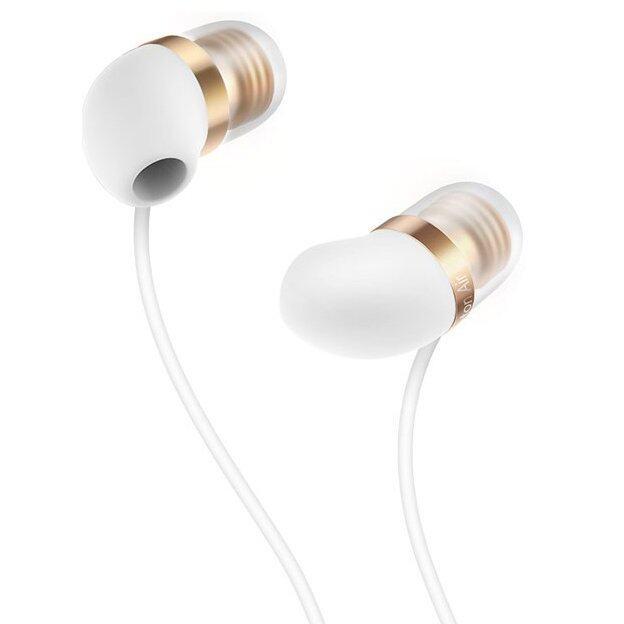 การใช้งาน  เชียงราย Xiaomi หูฟังอินเอียร์พร้อม mic รุ่น Piston Air Capsule (White/ Gold)