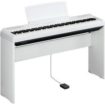 YAMAHAเปียโน ดิจิตอล Digital Piano พร้อมขาตั้ง ที่วางโน๊ต P-115 ( WH )