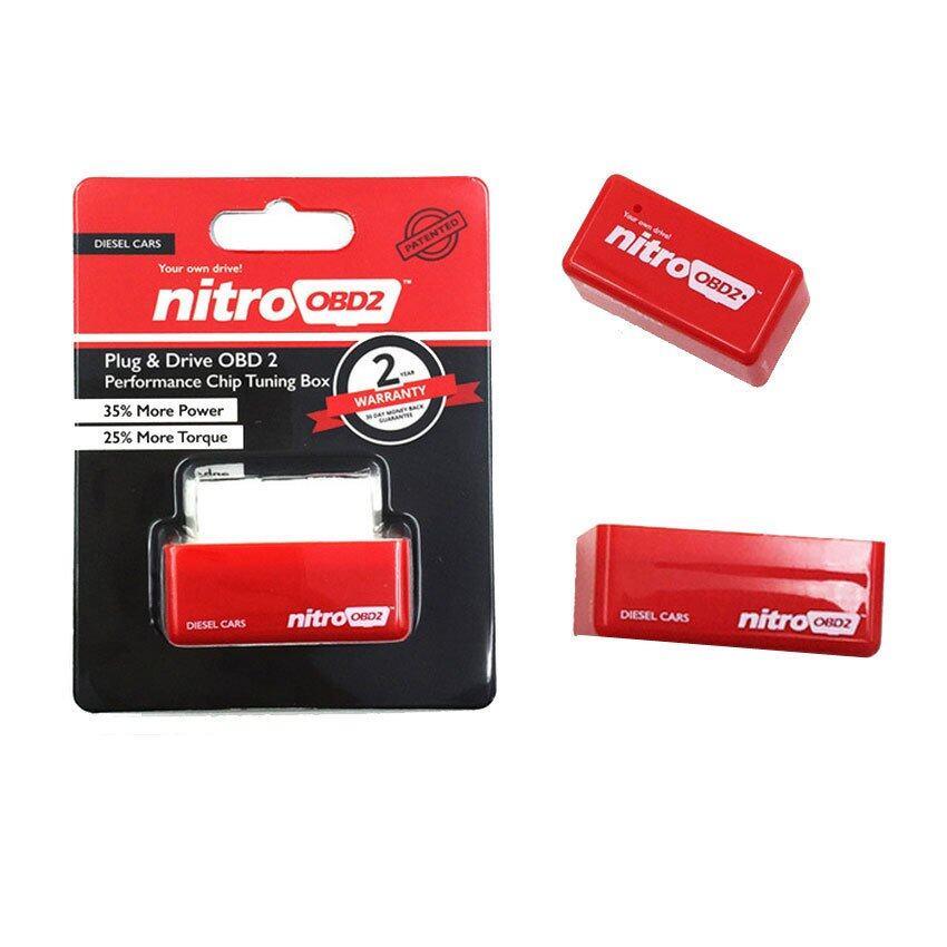 ส่วนลด  กาญจนบุรี NITTO Nittro OBD2 ชิปจูนกล่อง ปรับแต่งสำหรับรถกะบะ ดีเซล เพิ่มแรงม้า ประหยัดน้ำมัน (สีแดง)