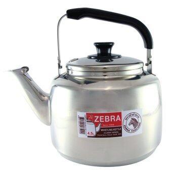 ZEBRA กาต้มน้ำนกหวีด 4.5L Classic 113522 (Silver)